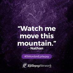 #5Words4Epilepsy  www.theepilepsynetwork.com