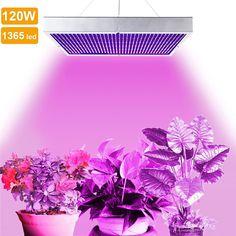 120 w Led Pianta Cresce Lampada per il Giardinaggio Indoor Sistema di Illuminazione di Coltura Idroponica Serra Coltiva La Lampada Per La Fioritura Delle Piante