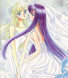 Sailor Moon Manga Minako Aino Rei Hino