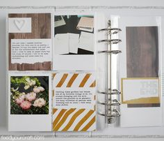 A cozy place of information & inspiration for all paper crafters, food makers, word lovers, DIY home decorators, and anyone else who loves to create! Project Life 6x8, Life 2016, All Paper, Cozy Place, Photography, Crafts, Photograph, Manualidades, Fotografie