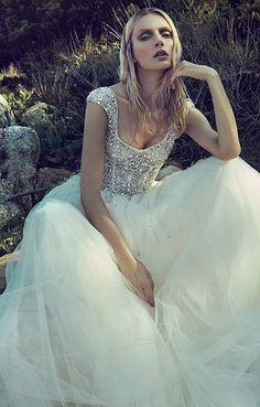 Wedding dress idea; Featured Dress: Badgley Mischka