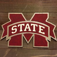 Mississippi State rustic sign.