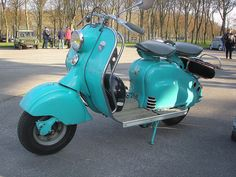 great vintage scooter