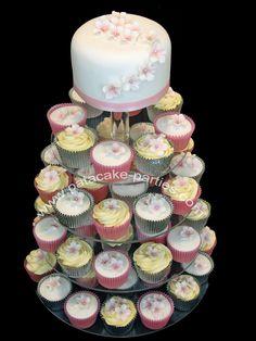 cupcake wedding cakes | Wedding Cupcakes 'Sasha'