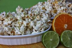 Sweet and Salty Orange Vanilla Popcorn by Deals to Meals