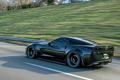 2008 Chevrolet Corvette Z06 Rear Driving