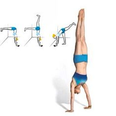 Learn how to do a handstand...it's on my bucket list...I'm not getting any younger though..