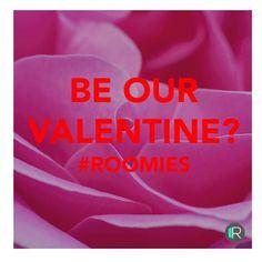 BE OUR VALENTINE? www.rangeroom.com . . #rangeroom #b2b #roomies #fashiontech #ValentinesDay #bemine #love #newpost #tuesday #14february