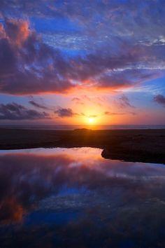 sundxwn: Sunset by Luis Valadares
