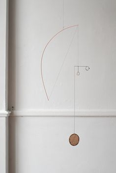 Forms from Wire & Paper – Hanging Mobiles by Kayo Miyashita ... See more OEN http://the189.com/sculpture/forms-from-wire-paper-hanging-mobiles-by-kayo-miyashita