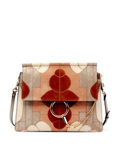 the best handbags - Drew Leather & Suede Shoulder Bag, Rose (Pink) - Chloe   By Chloe ...