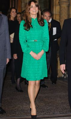 The Duchess of Cambridge's best green ensembles - HELLO! CA