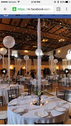 50 Awesome Balloon Wedding Ideas | Tablescapes, Centerpieces & Chair ...
