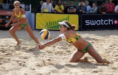 Brasil avança à fase eliminatória com cinco duplas femininas em Hamburgo #sportv