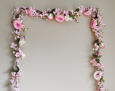 Wedding Garland Floral Garland Flowers by blueorchidcreations