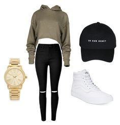 """❤️"" by emilycordova-ec on Polyvore featuring Vans and Michael Kors"