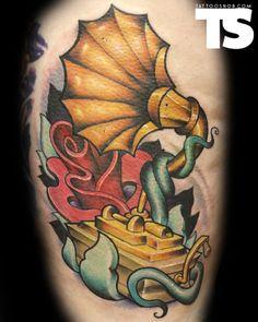 Tattoo by Jeremy Miller