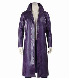 1//6 Scale Toy Hot Toys Suicide Squad Joker Violet Alligator peau trench coat