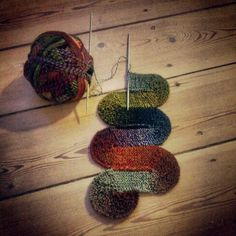 "I'm giving ""the ten stitch wave"" a go. A fun knitting project for sure!"