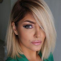 Up Hairstyles, Pretty Hairstyles, New Hair, Hair Goals, Dermal Fillers, Lip Fillers, Blonde Balayage, Hair Highlights, Love Hair