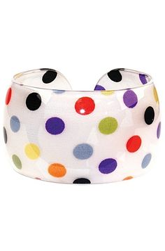 Love this polka dot bangle