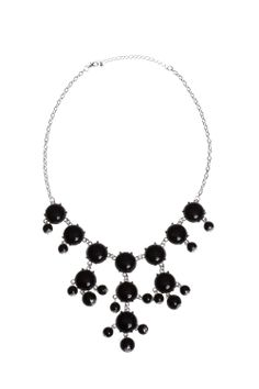 Dressing Your Truth - Type 4 Black Bubble Necklace