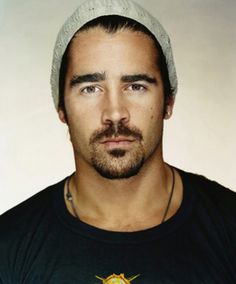 Colin Farrell's bad boy reputation and dark brooding looks was a big part of my inspiration for the Spanish-Irish actor hero, Wolfe Kerrick, in Hollywood Husband, Contract Bride.