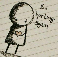 Broken heart... heart ache...