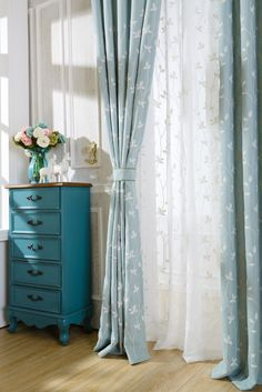 Baby Blue Curtains for Nursery . Baby Blue Curtains for Nursery . Yellow Kitchen Curtains, Light Blue Curtains, Blue Curtains Living Room, Green Curtains, Colorful Curtains, Blue And White Curtains, Turquoise Curtains, Luxury Curtains, Home Curtains
