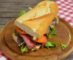 Chuck Eye-Süßkartoffel Steak Sandwich - Katha-kocht!