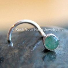 128944cb4 Aventurine Nose Stud * Green Nose Ring * 3mm Nose Jewelry * Nose Piercing  Stud CUSTOMIZE