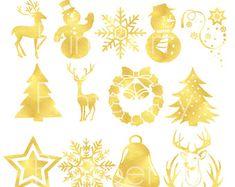 70% OFF Venta Navidad clipart Navidad chica por PremiumClipart