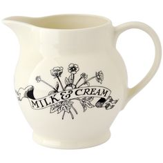 Emma Bridgewater, of course! Black Toast 2015 1/2 Pint Jug