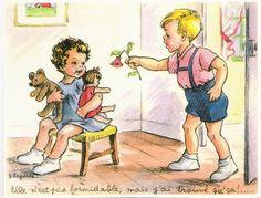 Carte humour enfant                                                                                                                                                                                 Plus