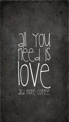 Amor y café.