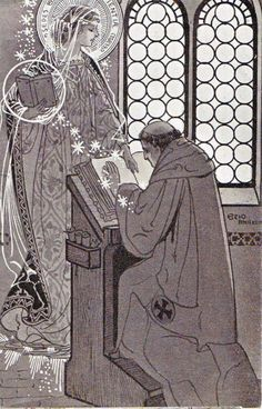 Ezio Anichini serie Immagini sacre - 17. Sedes sapiéntiæ