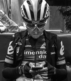 """1,318 Likes, 3 Comments - Team Dimension Data (@teamdidata) on Instagram: """"Last minute phone check before the stage starts. Go team! #DoYourPart #LV2017"""""""