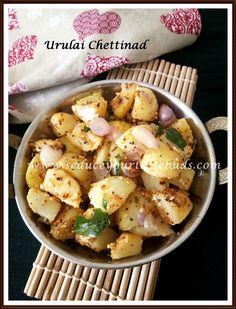 Urulai Chettinad | Chettinad Style Potato Curry