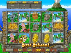 Spin to win real money, play Lost Island slots @ Moon Games