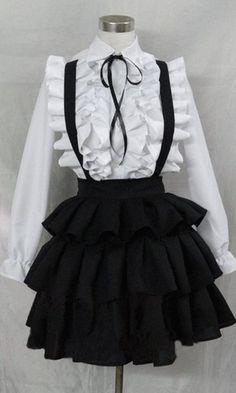 Black dress quartet 4411