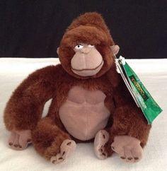 NEW Tarzan Heartbeat Kala Mini Bean Bag Disney Store Stuffed Mom Ape Plush  #Disney