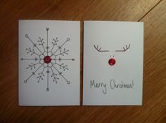 Crafty Christmas Cards | Through The Magic Door