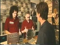 TV ad for Queen Greatest Video Hits II DVD with Brian May & Roger Taylor