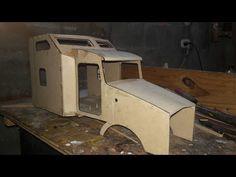 Cabina Kenworth t800 a escala ... planos y plantillas