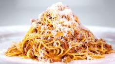 Spaghetti Bolognese ala Clinton Kelley from The Chew  Yum