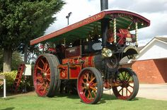 """Burrell Showmans Road Locomotive, 3334 """"The Bailie"""", GA 2168 at Lincolnshire Steam and Vintage Rally 2009, Image 5 - Steam Scenes"""