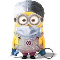 Surgery minion or a surgical technologist to some. Amor Minions, Cute Minions, Minions Despicable Me, Minions Quotes, Minions 2014, Minion Smile, Minion Face, Medical Humor, Nurse Humor