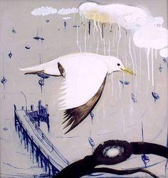 Paintings - Brett Whiteley - Page 2 - Australian Art Auction Records Australian Painting, Australian Artists, Australian Birds, Bird Artwork, Insect Art, European Paintings, Fashion Painting, Aboriginal Art, Art Auction