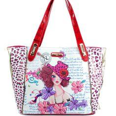 Nicole Lee Sunny White Print Fashion Satchel Tote Shoulder Bag Nicole Lee,http://www.amazon.com/dp/B00IK9WCRW/ref=cm_sw_r_pi_dp_OfMGtb0ZHCCY7624