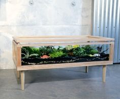I've been wanting to make a piece of indoor 'garden' furniture for ages. Not only do plants help improve indoor air quality (see NASA study), they a...